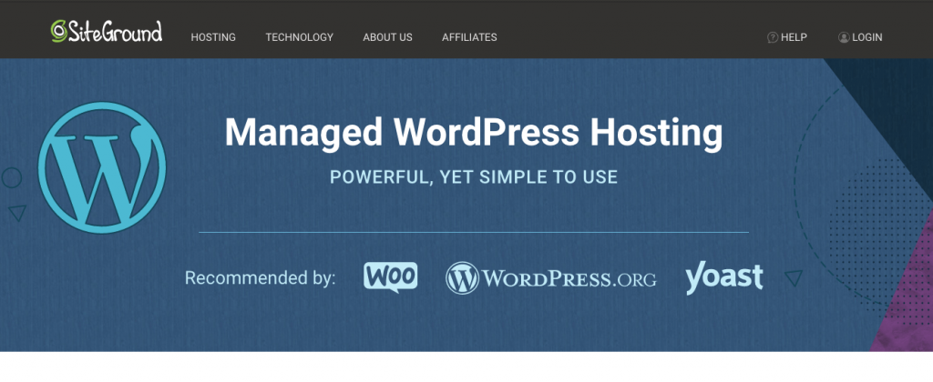 siteground Best Hosting for WordPress