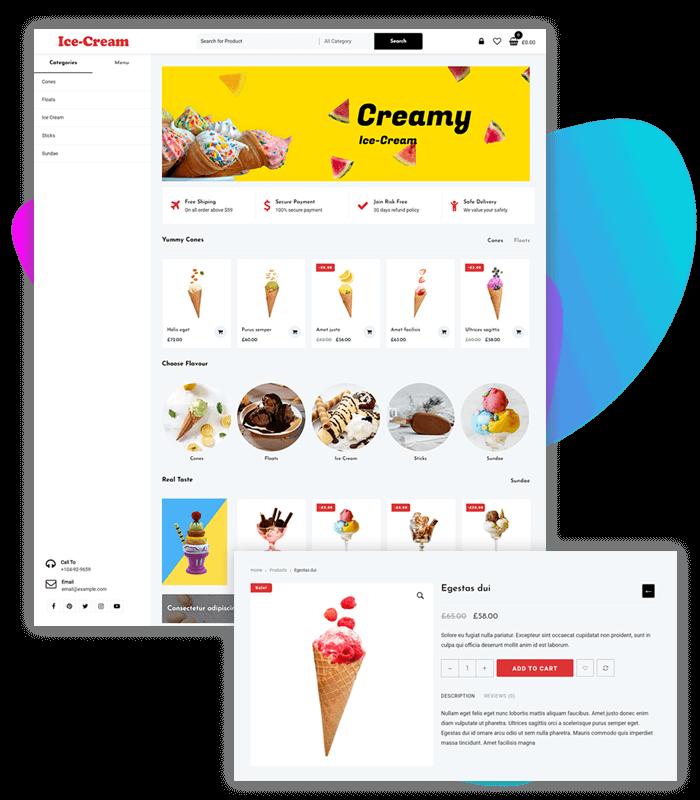 template-demo-page-one-click-ice-cream-store