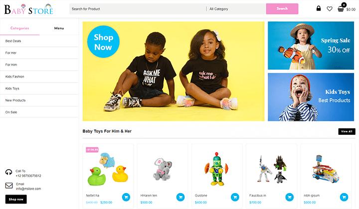 Baby-&-Kids-Store
