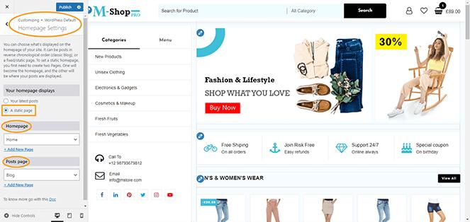 homepage-setting-m-shop-pro