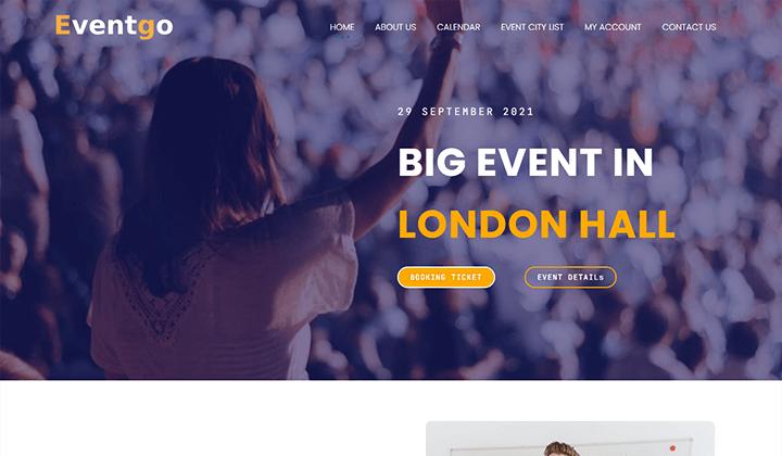 Event Management Elementor Kit