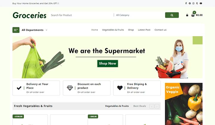 Groceries-Shop