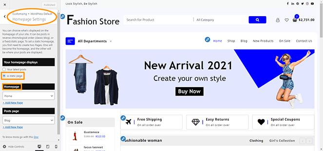homepage-setting-jotshop