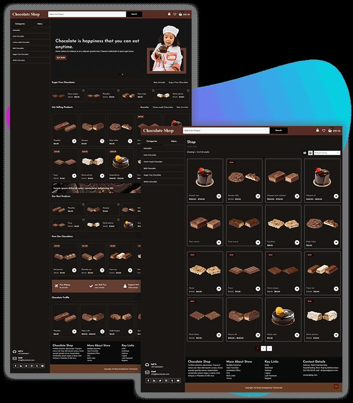Chocolate WordPress Theme