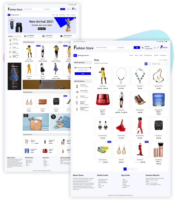 template-demo-page-one-click-fashion-jot-shop
