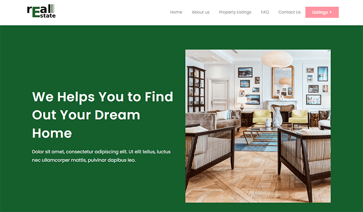 Real Estate Business Theme