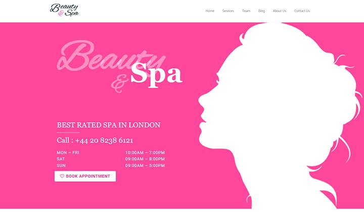 Beauty & Spa Elementor Kit