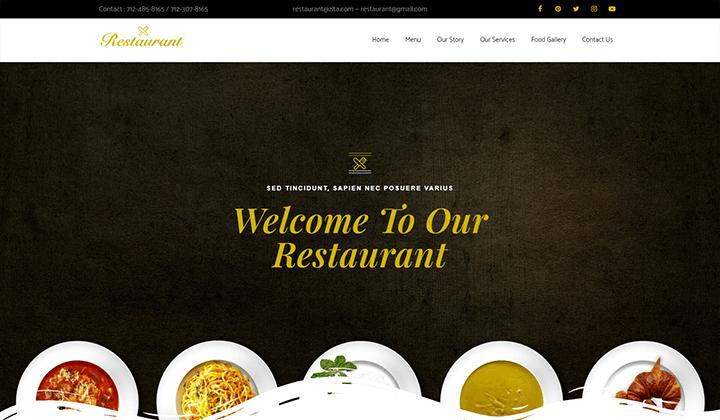 Restaurant Online Elementor Template Kit