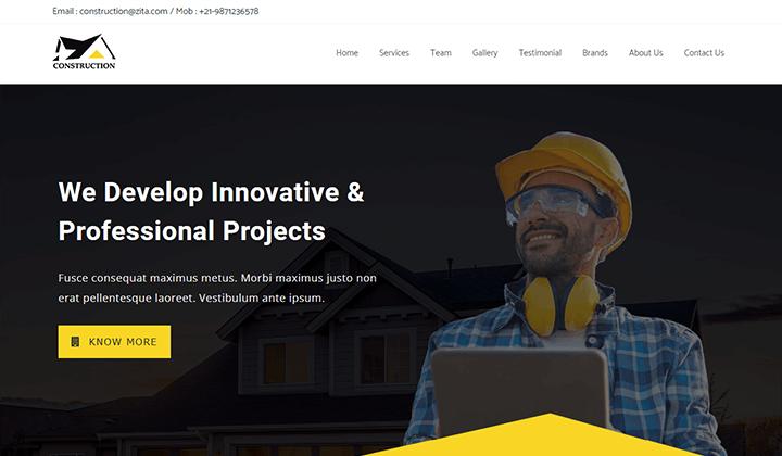 Construction & Building Template Kit
