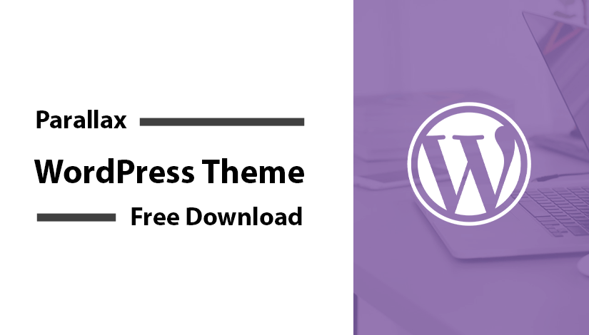 20+ Parallax WordPress Theme Free Download